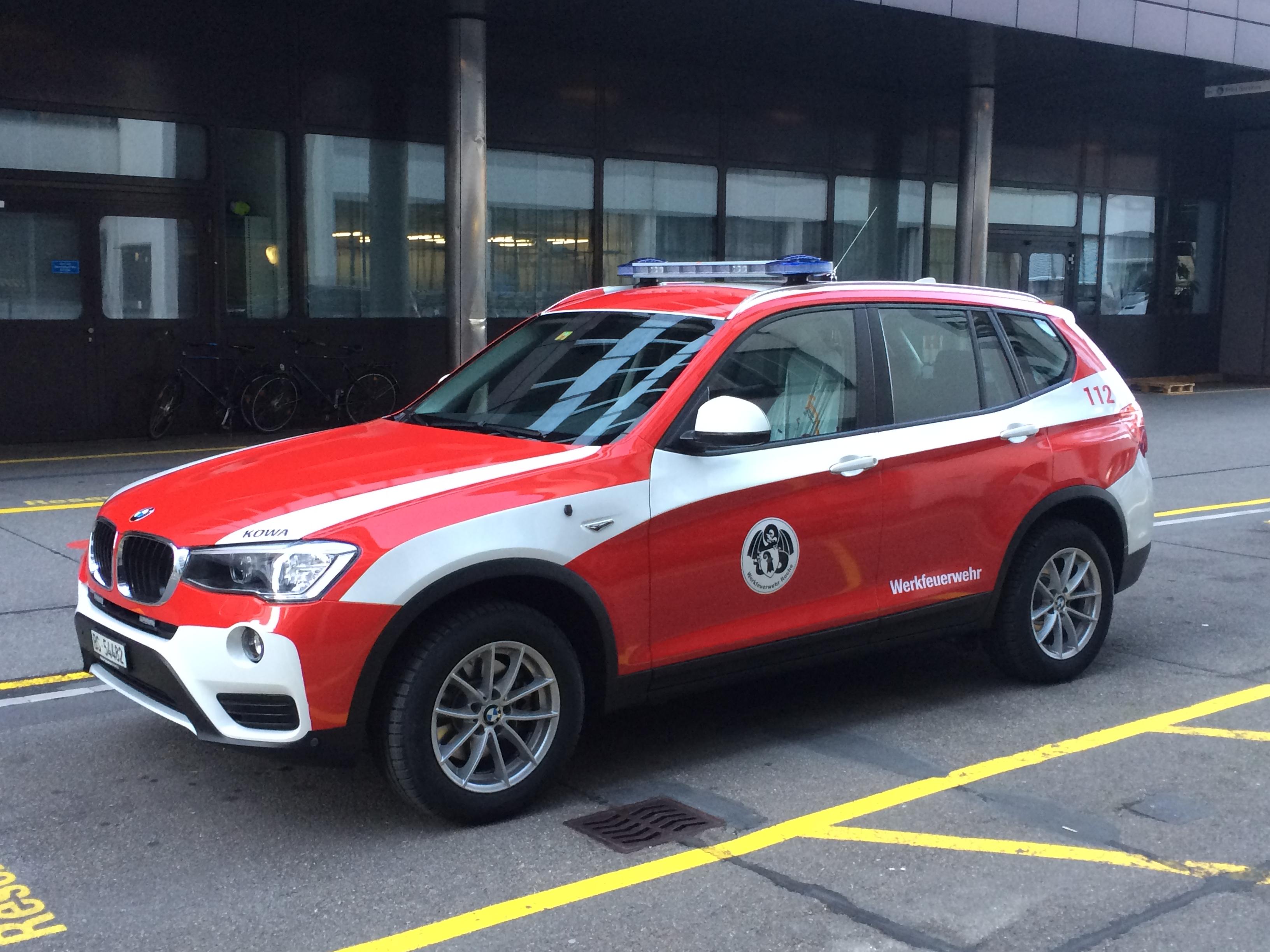 Rettung Basel Stadt Kommandowagen